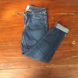 Paige skinny roll up jeans waist 29
